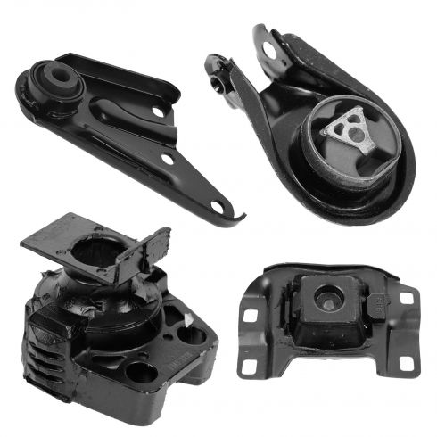 04-09 Mazda 3 w/2.0L; 04-08 3 w/2.3L Engine & Transmission Mount Kit (Set of 4)