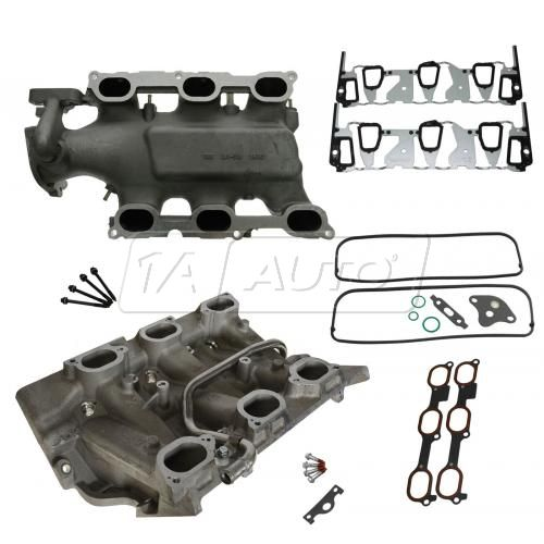 00-03 Buick Chevy Olds Pontiac 3.4L Upper & Lower Intake Manifold Kit
