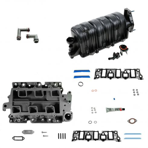 95-05 Buick Chevy Olds Pontiac V6 3.8L Upper & Lower Intake Manifold Kit
