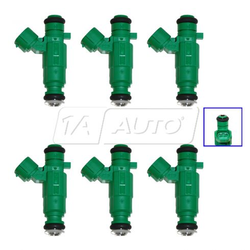 99-11 Hyundai, Kia Multifit w/ 2.5L, 2.7L Fuel Injector (Set of 6)