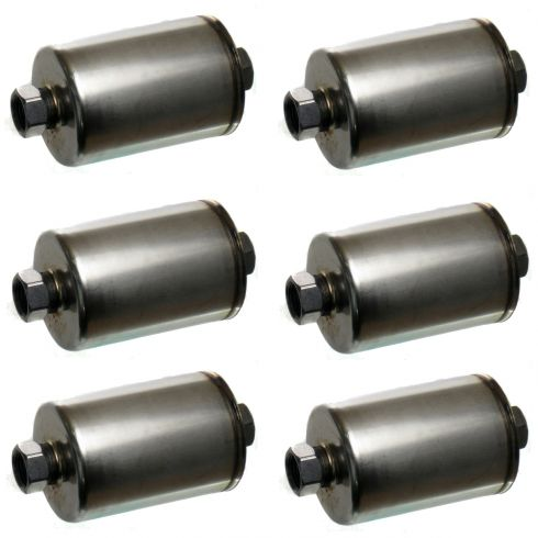 79-09 GM Multifit Fuel Filter GF652F (Set of 6) (ACDelco)