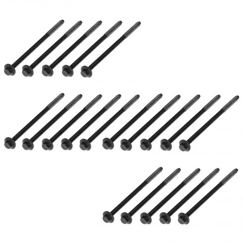 05-07 Avanti; 92-12 Ford; 91-12 Lincoln; 92-11 Mercury w/4.6L, 5.4L Cylinder Head Bolt (Set of 20)