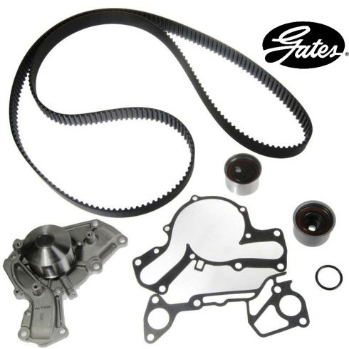 Mitsubishi V6 3.0L 91-99 Timing Belt Water Pump Kit 4 Components