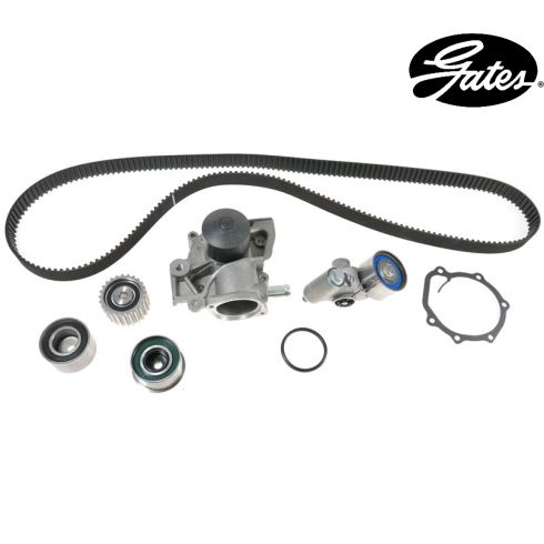 Subaru H4 2.5L 00-08 Timing Belt Water Pump Kit 6 Components