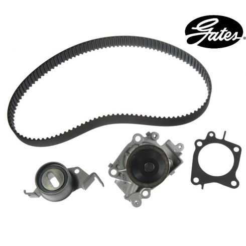 Mitsubishi L4 1.8L 97-02 Timing Belt Water Pump Kit 3 Components
