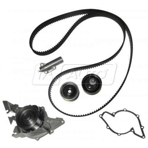 Audi V6 2.7L Timing Belt Water Pump Kit 5 Components