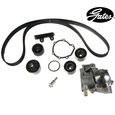 Subaru H4 2.2L 94-97 Timing Belt Water Pump Kit 7 Components