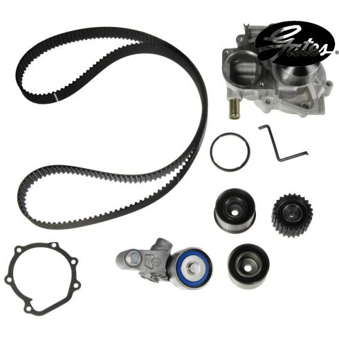 Subaru H4 2.5L 06-08 Timing Belt Water Pump Kit 6 Components