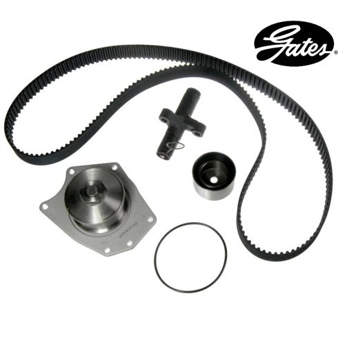 Dodge V6 3.5L 97 Timing Belt Water Pump Kit 4 Components