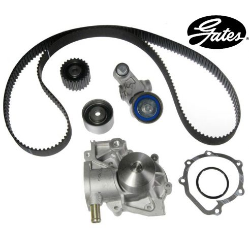 Subaru H4 2.2L 98 Timing Belt Water Pump Kit 6 Components