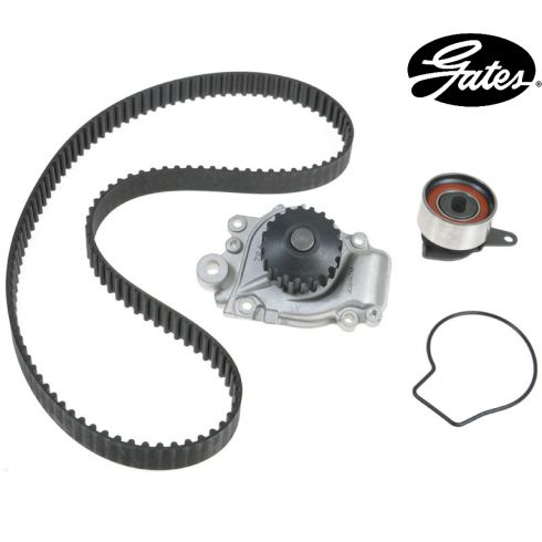 86-89 Acura Integra 1.6 DOHC Timing Belt Kit with Water Pump (Gates)