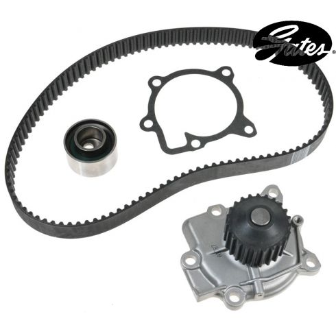 90-93 Geo Storm Isuzu Stylus L4 1.6L Timing Belt Kit with Water Pump (Gates)