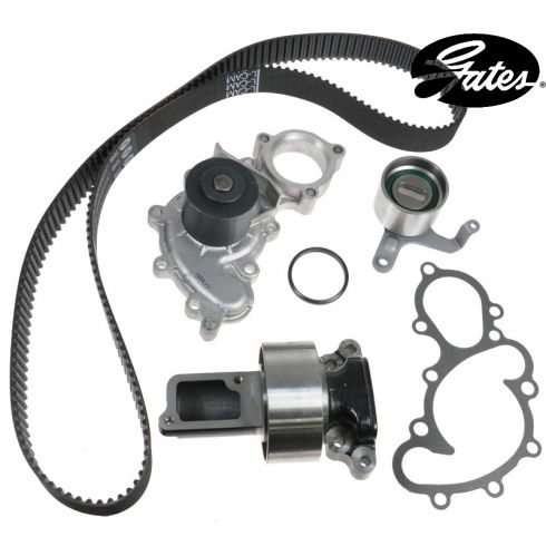 88-90 Toyota PU: 88 4Runner Timing Belt Kit with Water Pump (Gates)