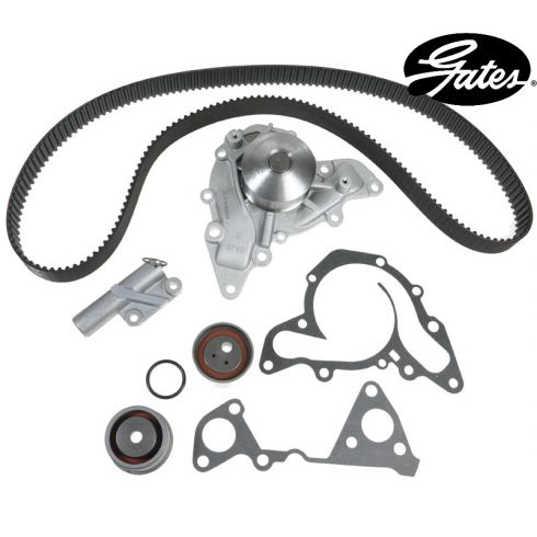 97-00 Montero: 00-04 Montero Sport V6 3.5L Timing Belt kit with Water Pump (Gates)
