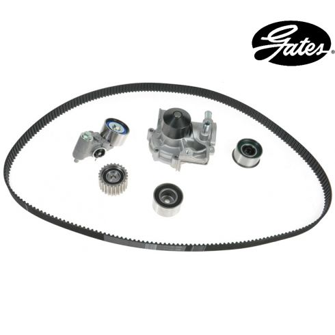 02-05 Subaru Forester 2.5L Automatic trans (ex turbo) Timing Belt Kit with Water Pump (Gates)