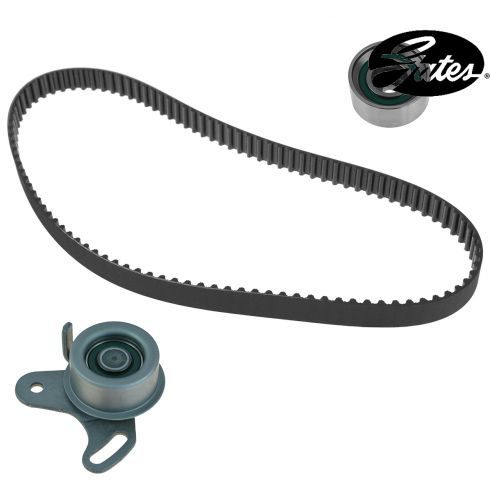 96-97; 01-10 Hyundai Accent; 06-09 Kia Rio 1.6L SOHC Timing Belt & Component w/ seals Kit (Gates)