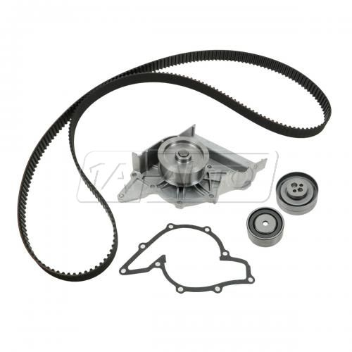 92-94 Audi 100 w/2.8L Timing Belt & Component Kit w/Water Pump (4 Piece) (Gates)