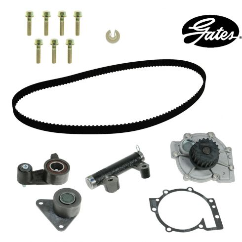 93-97 Volvo 850 w/2.4L Timing Belt & Component Kit w/Water Pump (5 Piece) (Gates)