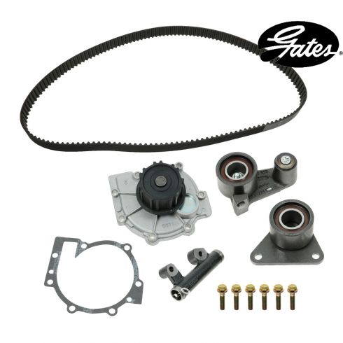 95-97 Volvo 960 w/2.9L Timing Belt & Component Kit w/Water Pump (5 Piece) (Gates)