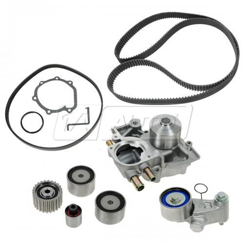 08-12 Subaru Impreza w/2.5L DOHC Timing Belt & Component Kit w/Water Pump (8 Piece) (Gates)