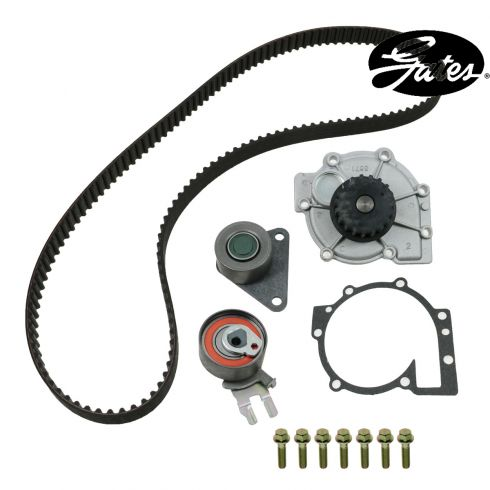 01-07 Volvo V70 w/2.4L Timing Belt & Component Kit w/Water Pump (4 Piece) (Gates)