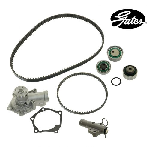 07-10 Mitsubishi Galant w/2.4L Timing Belt & Component Kit w/Water Pump (7 Piece) (Gates)
