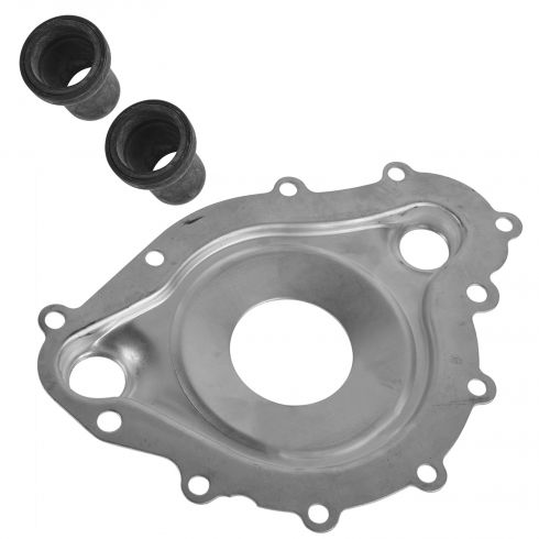 69-81 Pontiac, Buick Models w/Pontiac V8 Water Pump Housing Divider Plate & Output Sleeves Kit (GM)