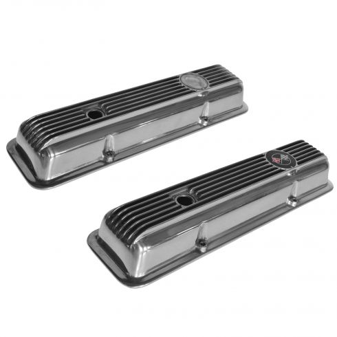 69-77 Corvette; 69-70 Camaro w/5.7L High Performance Aluminum Valve Cover PAIR (GM)