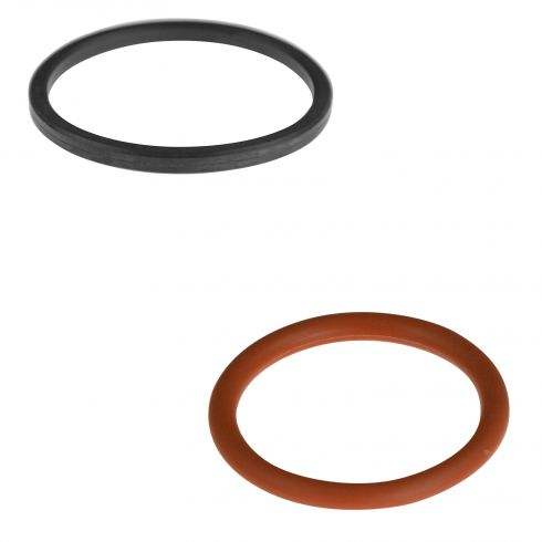 01-04 Nissan Pathfinder, Xterra w/3.5L Engine Oil Cooler Small Red O-Ring Gasket Set (Nissan)