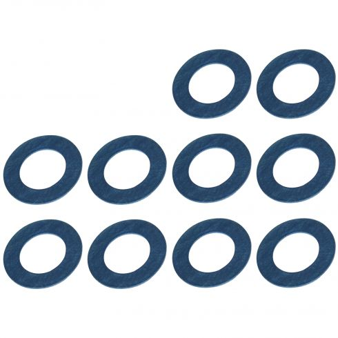 04-15 Scion xA, xB, tC, xD; 94-15 Toyota Multifit Oil Drain Plug Washer Gasket Set of 10 (Toyota)