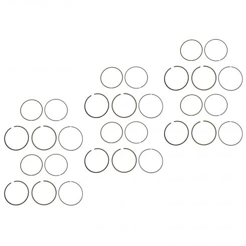 99-13 Volvo 4-6 Cyl Std Piston Ring Set of 6 (Volvo)