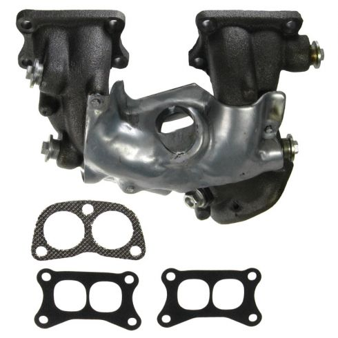 1983-89 Nissan Multifit 4cyl 2.4L Exhaust Manifold w/Heat Shield