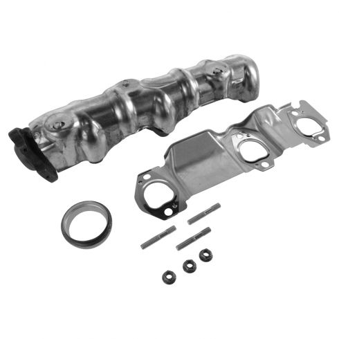 93-04 GM FWD Multifit 3.1L, 3.4L Exhaust Manifold & Gasket Install Kit LH Front (Radiator Side)