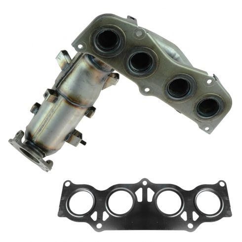 02-06 Toyota Camry, Solara 2.4L Exhaust Manifold w/Catalytic Converter
