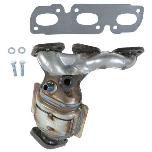 2000-01 Mazda MPV 2.5L (w/CALF Emissions) Exh Manifold w/Catalytic Convertor & Gasket Kit RH (Rear