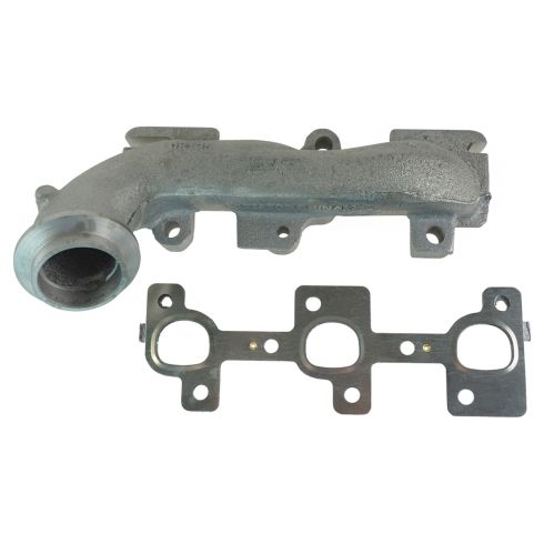 02-04 Jeep Liberty 3.7L Exhaust Manifold & Gasket Kit RH