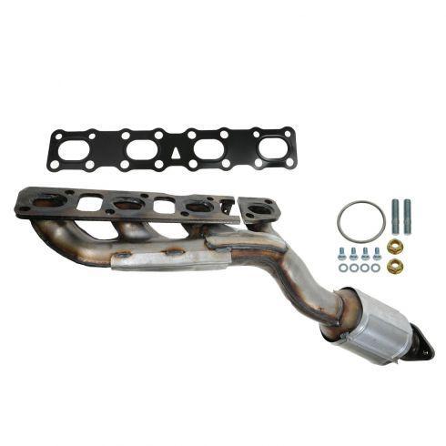 04-06 Armada, QX56, Titan Exhaust Manifold w/ Integral Cataytic Convertor w/Hardware RH