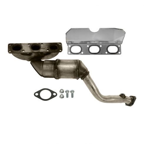 99-00 BMW 3 Series Sdn, Z3 (exc 3.2L); 98-00 528i FRONT Exhaust Manifold w/Cat Cnv & Gasket Kit