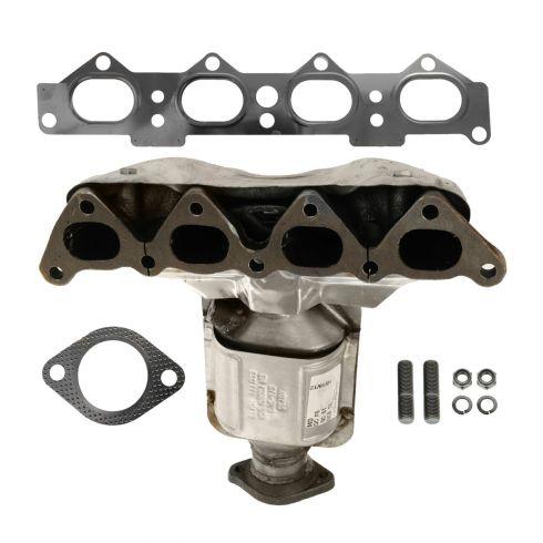 05-10 Kia Sportage; 05-06 Hyundai Tucson w/2.0L Exhaust Manifold w/Cat Conv & Gaket Kit