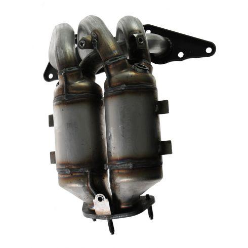 04-12 Mitsubishi Galant w/2.4L Exhaust Manifold w/Dual Catalytic Convertors (exc CA Emiss)