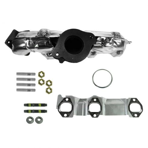99-04 Jeep Grand Cherokee w/4.7L Exhaust Manifold w/Gasket & Install Kit RH