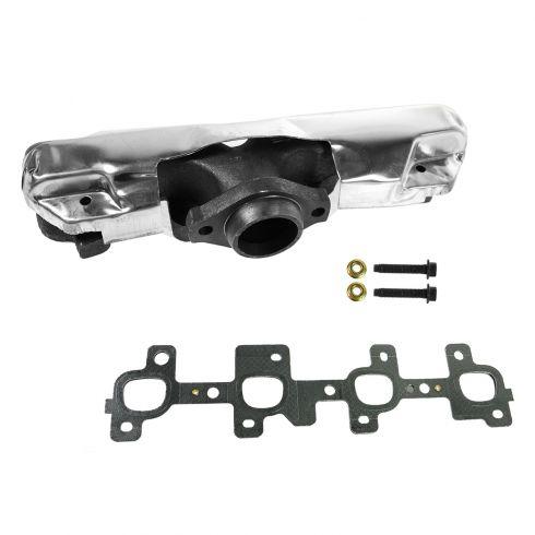 04-07 GM Mid Size FWD Multifit w/3.1L, 3.4L Rear Exhaust Manifold w/Gasket & Install Kit RH