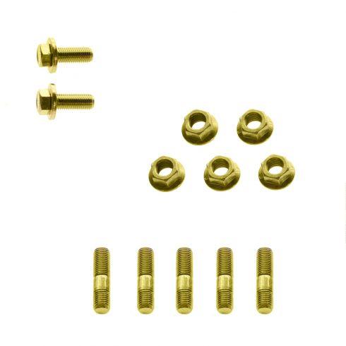 89-97 Corolla, Celica, Prizm w/1.6L, w/1.8L Exhaust Manifold Installation Hardware Kit (12 Piece)