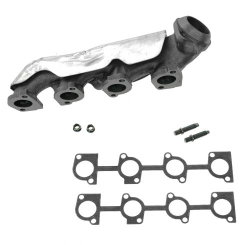 02-05 Ford Explorer, Mercury Mountaineer w/4.6L Exhaust Manifold w/Gasket & Hardware LH