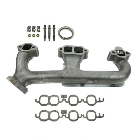 88-95 C/K 305/350 Exh Manifold w/air & Gasket Kit LH (Dorman)