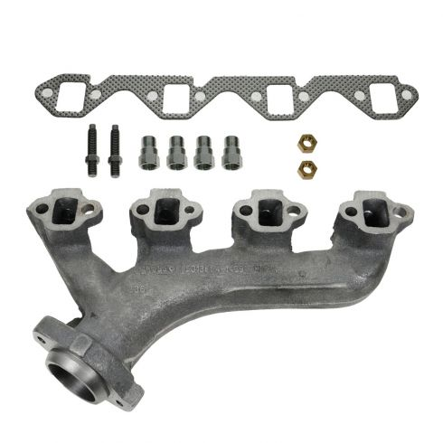 88-96 Ford 351 5.8L Exh Manifold & Gasket Kit LH (Dorman)