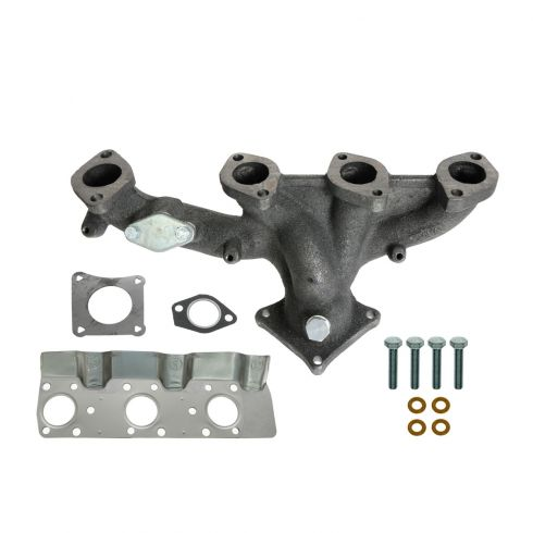96-00 Chrysler Minivan 3.0L Exh Manifold & Gasket Kit Rear (Dorman)