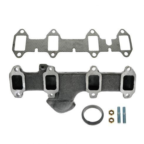 68-76 Ford PU Truck 360 390 Exh Manifold & Gasket Kit LH (Dorman)