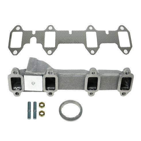 68-76 Ford PU Truck 360 390 Exh Manifold & Gasket Kit RH (Dorman)