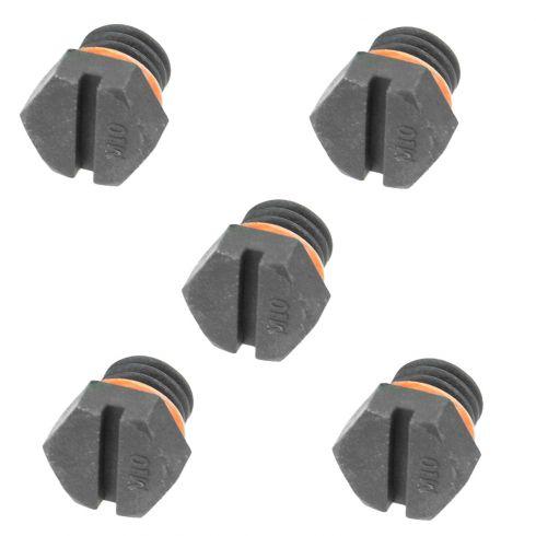 01-10 Silverado, Sierra 2500; 04-10 3500 6.6L Diesel Fuel Filter Air Bleeder Screw (Set of 5)